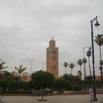 Koutoubia Mosque --- key landmark!