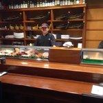 Their sushi bar.