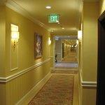 Even the hallways are elegant.