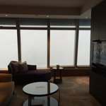 112 floor. So high it's covered in clouds.