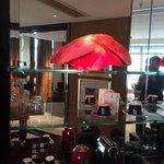 Nespresso & crystal sculpture
