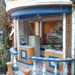 Foto da cozinha comunitária externa