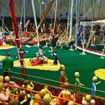 Tibbals Miniature circus detail