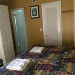 Vista parcial do quarto
