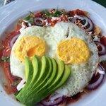 morning delicious eggs.
