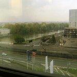 Вид на Сену из окна