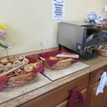 Continental breakfast selections