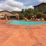 Wyndham's pool