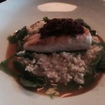 Cobia with fennel risotto @The Atlas Room