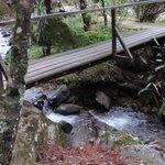 Ponte que liga Chalés a Sede