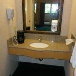 Second bathroom vanity