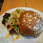 Pulled Buffalo Sandwich w/ Chayote Squash Slaw