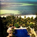 Vista do quarto do Gran Oasis Palm