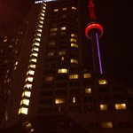 Hotel and CN Tower in background