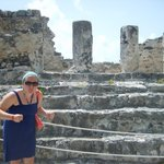 The only hotel with Myan ruins on the site!