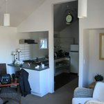 Weir Apartment kitchen/living room