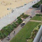 The Boardwalk and bike path