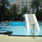 Raleigh Pool. Art Deco Design. Fun, Fun, Fun!
