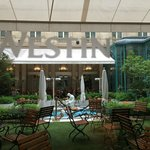 La Terrasse - courtyard restaurant