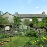 Vegetable garden and Beatrix Potter's house