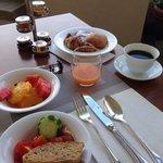 Petit déjeuner copieux & vue sur Florence