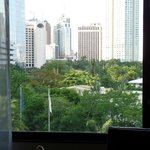 view of Makati from our room