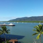 View of Inlet and Jetty from room balcony