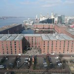 Liverpool docks from The Eye
