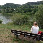 En picnic längs Mosel