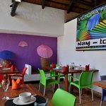 Nam Took restaurant in Victoria Falls