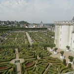 Villandy chateau and gardens