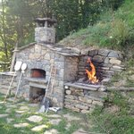 pizza oven en barbecue