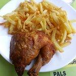 Pollo con patatas - Rostisseria Can Padrès (Pals-Girona)