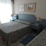 le lit très confortable et grand