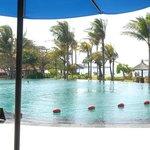 Second pool & beach