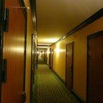 Couloir vintage sinistre