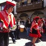 Folklore in Cusco.