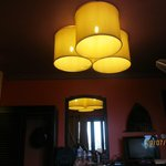 Lightshades in the bedroom