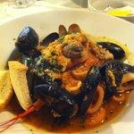 Deliziosa zuppa di pesce