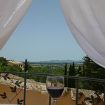 Rosa terrace view