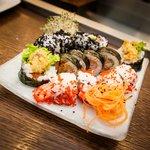 Fresh and tasty 'futomaki' and 'california maki' from Besuto :)