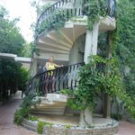 Лестница к номерам