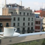 Balcony, Nespresso