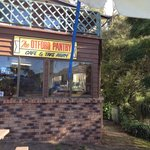 Back to nature with inside and outside seating and excellent, friendly service.