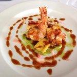 prawn tempura starter