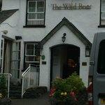 Entrance to Wild Boar Inn