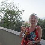 Balacony with Vesuvius view