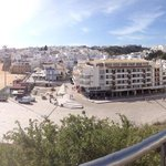 Centre of Albufeira, half an hour walk or 5 minutes on bus!