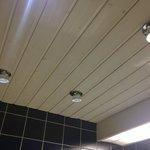 soffitto del bagno