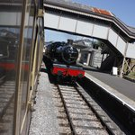 At Churston station